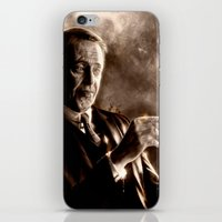 boardwalk empire iPhone & iPod Skins featuring Boardwalk Empire - Nucky Thompson by p1xer