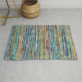 Stripes and Beads Rug