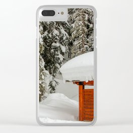 trails Clear iPhone Case