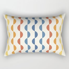 Gwynne Pattern - Vintage 70's Rectangular Pillow