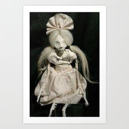 art doll, tabula rasa Art Print