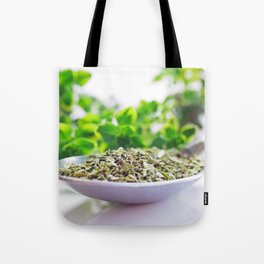 Kitchen Herbs Thym Tote Bag