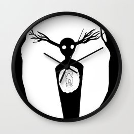 Come Wayward Souls Wall Clock