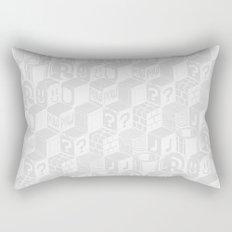 SUPER MARIO BLOCK-OUT! (White Edition) Rectangular Pillow