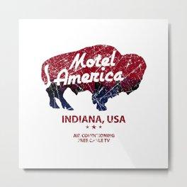motel america Metal Print