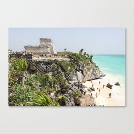 Tulum, Yucutan peninsular, Mexico Canvas Print