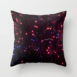 Glitter in the Sky Throw Pillow