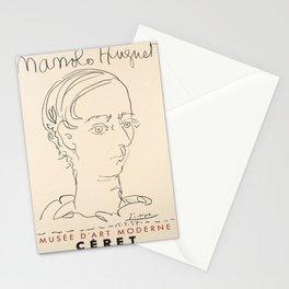 Plakat manolo huguet musee dart moderne Stationery Cards