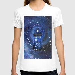 Tardis Starry Night T-shirt