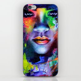 Rihanna Colors iPhone Skin