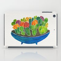 succulents iPad Cases featuring Succulents by Cat Coquillette