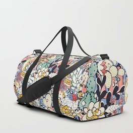 Blue Sky Succulents Duffle Bag