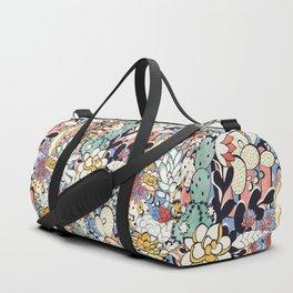 Blue Sky Succulents Duffle Bag