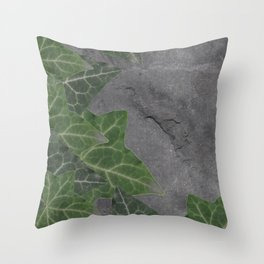 leaves texture Throw Pillow