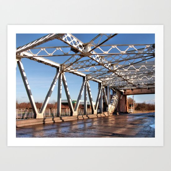 Sutton Bridge, Hull Art Print