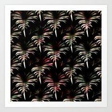 Tropicalia - Leaves Pattern Art Print
