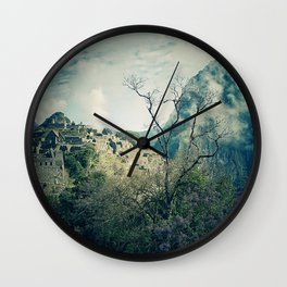 The Lost City II Wall Clock