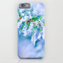Bitter Cold, Creamy Colors iPhone Case