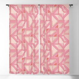 Geo fun Blackout Curtain