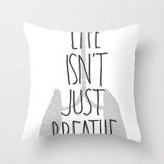 (but love) Throw Pillow