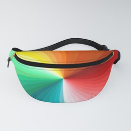 Multi Color Abstract Design Fanny Pack