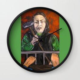 Misery Wall Clock