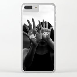 Seeing is Touching Clear iPhone Case