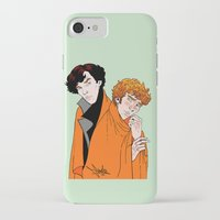 blankets iPhone & iPod Cases featuring Crash Landings and Shock Blankets by TheScienceofDepiction