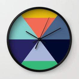 Colorful pattern XVII Wall Clock