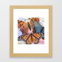 Beautiful Butterflies2~ Framed Art Print