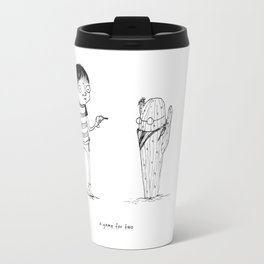 Rattail Steve: A Game for Two Travel Mug