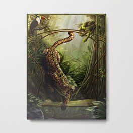 Amazo Metal Print