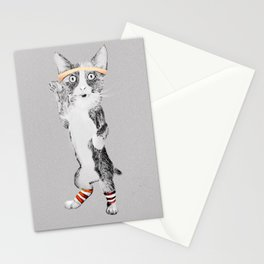 Sweatin' to the Oldies Stationery Cards