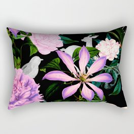 Flowering in the night meadow Rectangular Pillow
