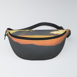 Mountain sunse Fanny Pack