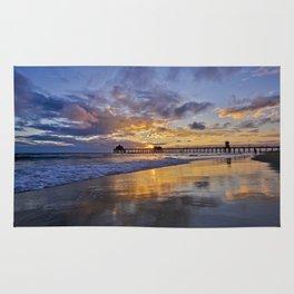 Huntington Beach Sunsets  9/14/15 Rug
