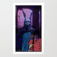 donnie darko Art Prints featuring Donnie Darko by brett66