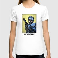 robocop T-shirts featuring RoboCop by Rat McDirtmouth