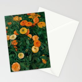 "Koloman (Kolo) Moser ""Marigolds"" Stationery Cards"