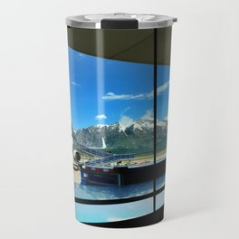 Mountain View from the Jackson Hole Airport Travel Mug