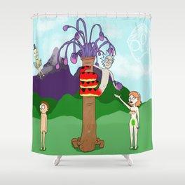 Orickinal Sin (Censored) Shower Curtain