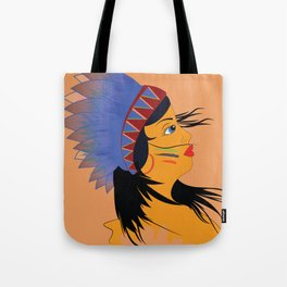Away with the wind Tote Bag