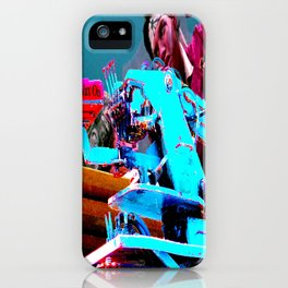 Quick!  Engage the Wax Machine! iPhone Case