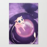mew Canvas Prints featuring Mew by Sunny