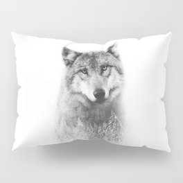 The Wolf and the Forest Pillow Sham