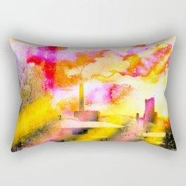 The Old Factory Rectangular Pillow
