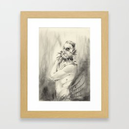 "inner demons 2 ""foresight"" Framed Art Print"
