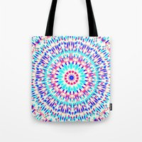 cosmic Tote Bags featuring Cosmic by Abstracts by Josrick