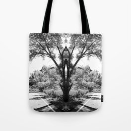Magical Tree in the Road Tote Bag