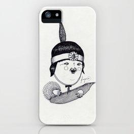 Apache Kid iPhone Case